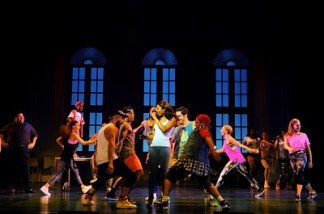 18. The cast of The Bodyguard at the Dominion Theatre. Photo credit Alessandro Pinna