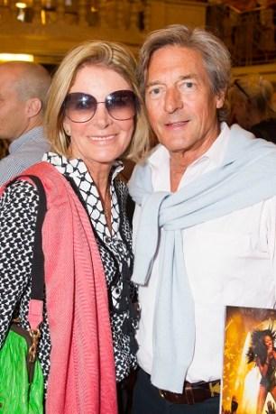 Georgiana Bronfman and Nigel Havers