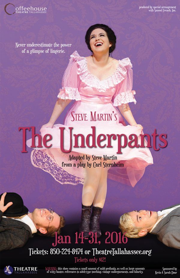 "Steve Martin's ""The Underpants"""
