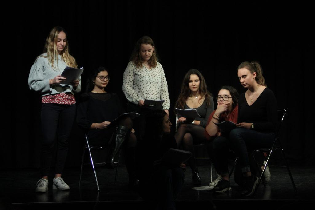 Création de pièce sur base de témoignage jeune femme FJT Chaillot-Galliéra pour insertion professionnelle