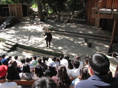 theatricum botanicum school days shakespeare
