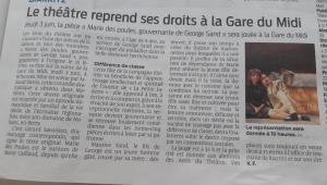 sud ouest, Marie des Poules, 2 Molières, Gare du Midi, Biarritz, théâtre, agenda, 3 jui 2021