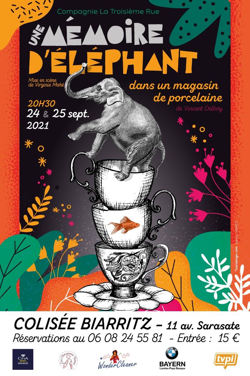 Une mémoire d'éléphant dans un magasin de porcelaine (64) Biarritz