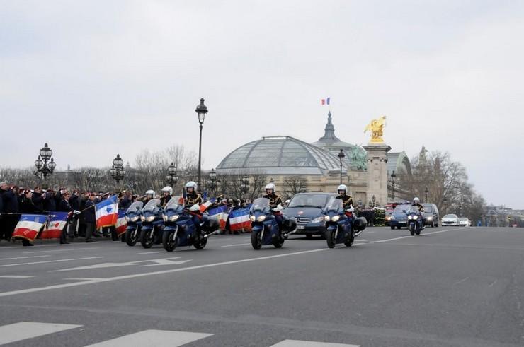 Paris, pont Alexandre III, le 22 février 2013. Crédit photo : Stéphane Gaudin