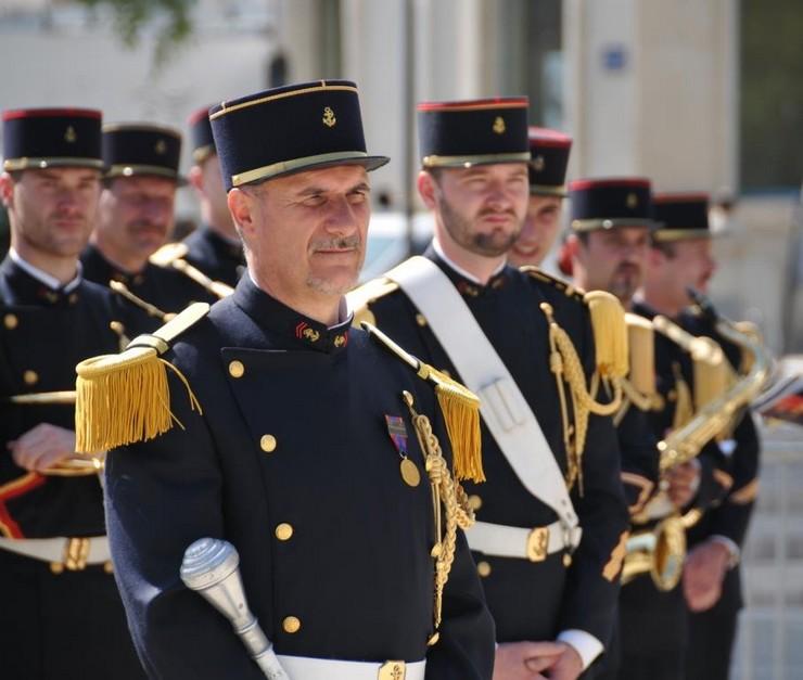 Commémoration de l'opération Daguet à Nîmes en 2010. Crédit : Stéphane Gaudin