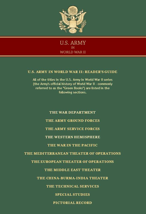 US ARMY IN WW2