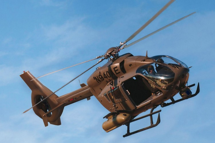 EC645 T2. Crédit photo : Airbus Helicopters