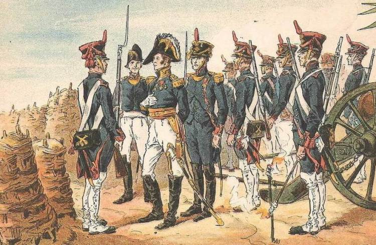 Artillerie Saint Domingue 1802