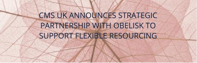 Obelisk CMS partnership