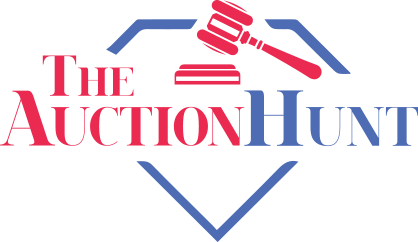 the auction hunt logo