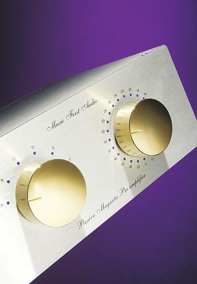 Music First Audio's Classic passive pre-amp: Look! No Plug