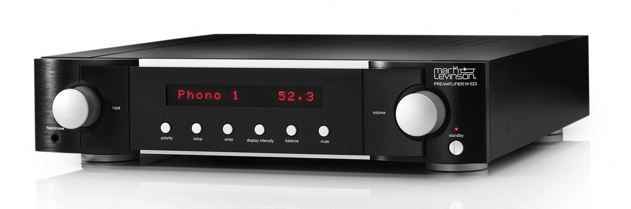 MARK LEVINSON NO 523 ANALOGUE PREAMPLIFIER & NO 534 DUAL