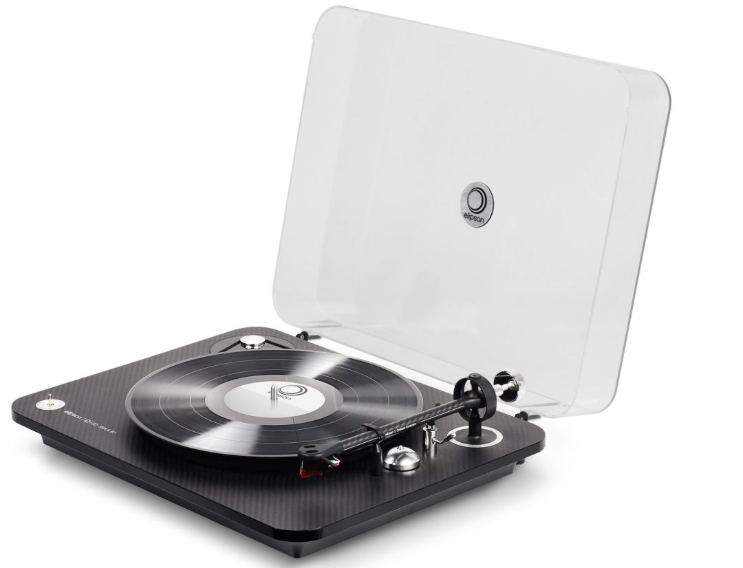 Elipson Omega 100 RIAA BT Carbon Black Turntable