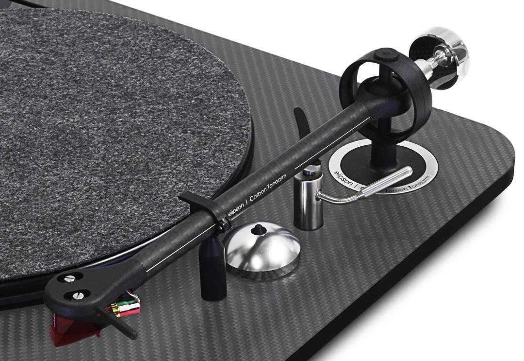 Elipson Omega 100 RIAA BT Carbon Black Turntable