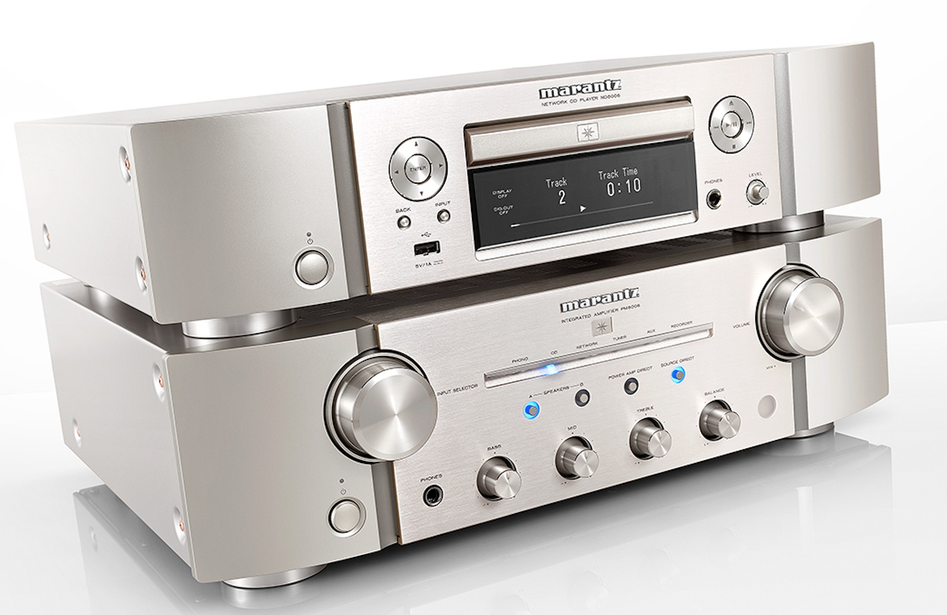 Marantz ND8006: network music/CD player, with DAC-Mode and
