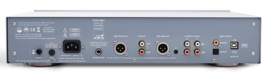 ATC CDA2 Mk2 CD/DAC Preamp
