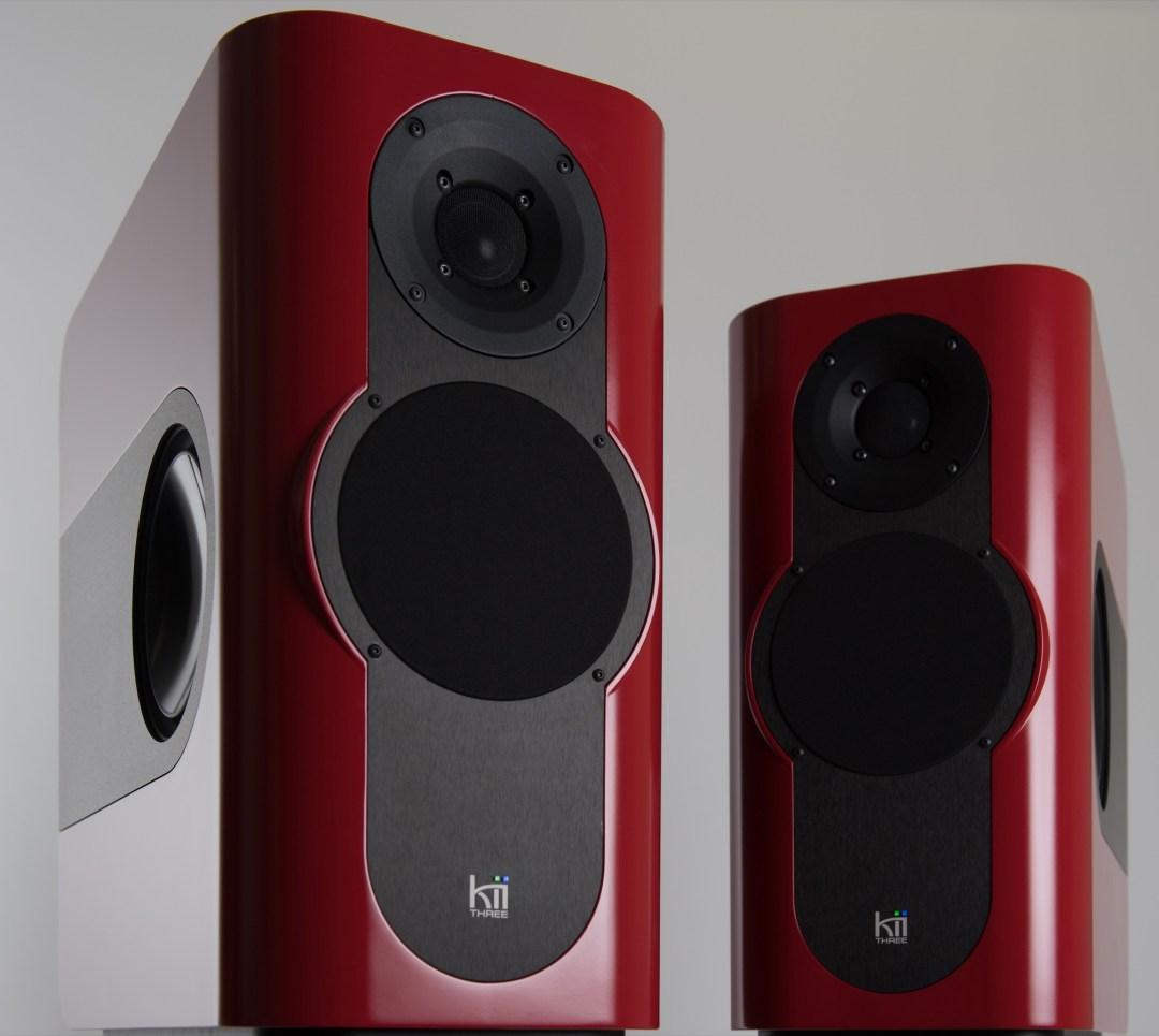 KII THREE Active Speakers with Six Drivers
