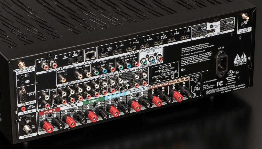 AVR-X4500HandAVR-X3500H From Denon