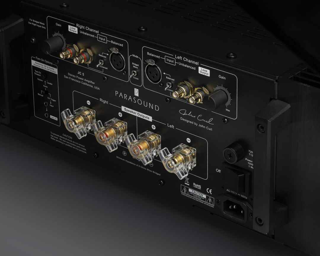 Halo JC5 stereo power amplifier From Parasound