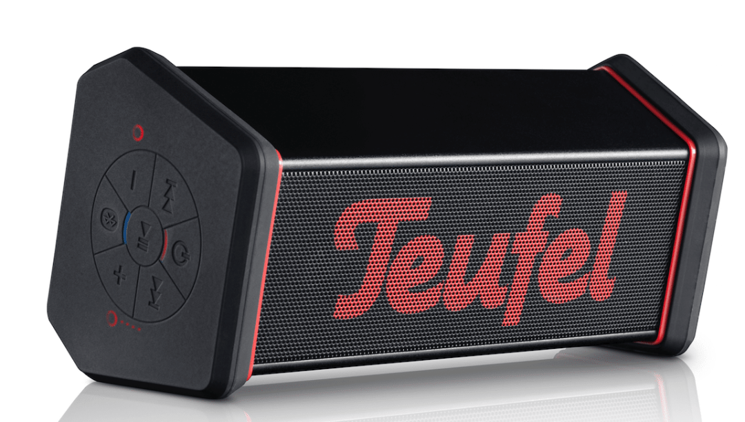 Rockster Xs Bluetooth Speaker From Teufel The Audiophile Man