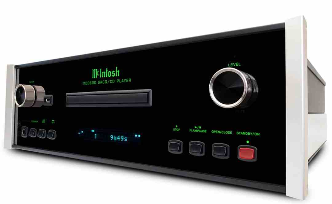 MCD600 CD Player From McIntosh