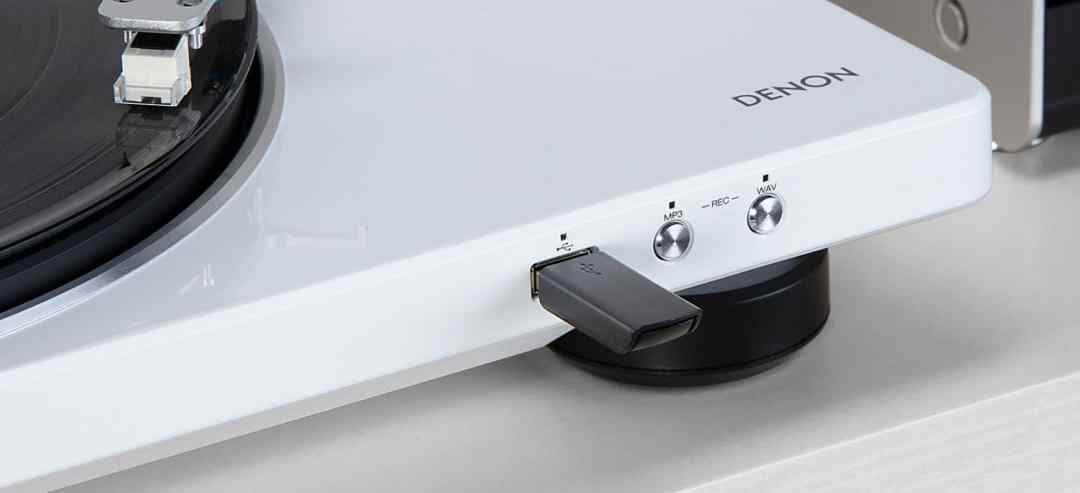 DP-400 and DP-450USB Turntables from Denon