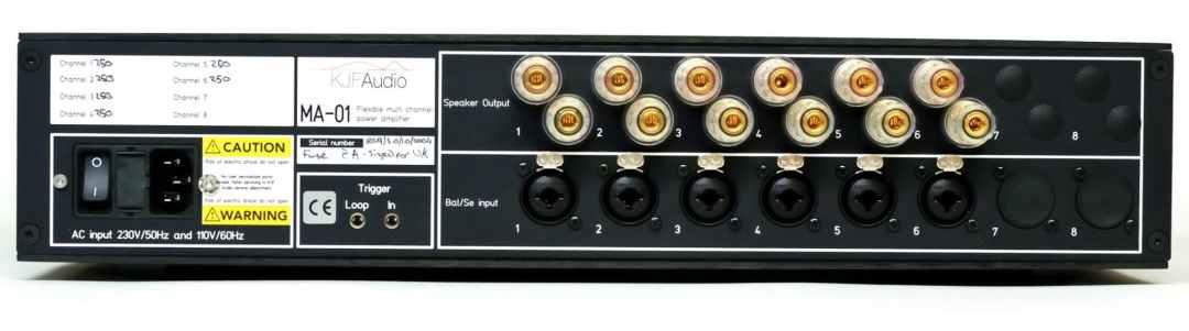 MA-01 flexible amplifier From KJF Audio