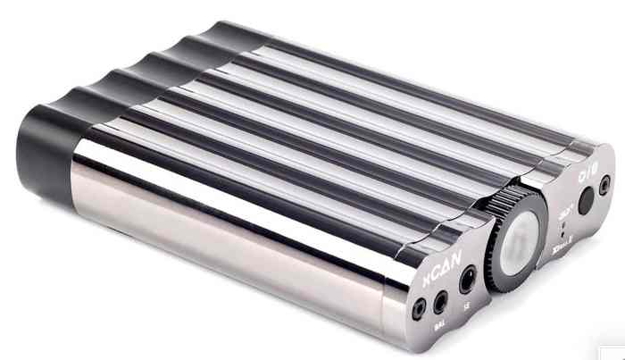 xCAN portable headphone amplifier from iFi