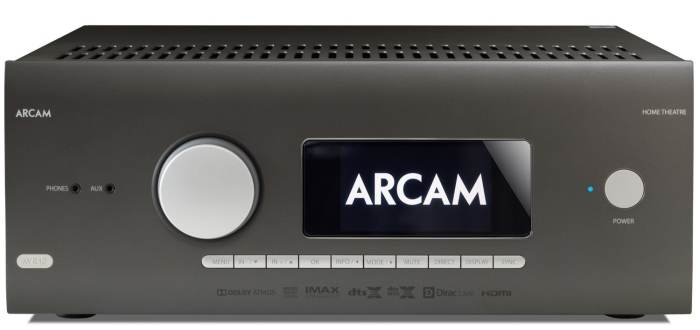 AVR and an AV processors From Arcam