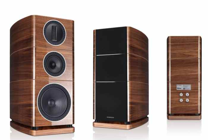 Elysian speakers From Wharfedale