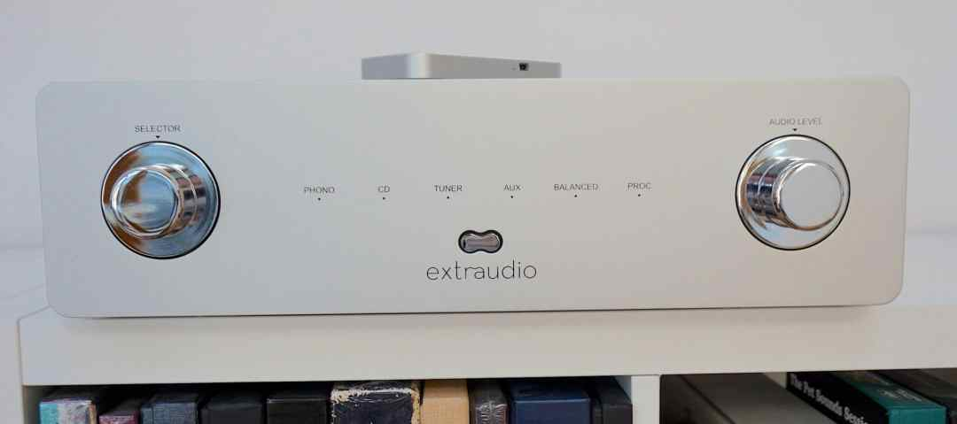 X250 Integrated Amplifier From Extraudio