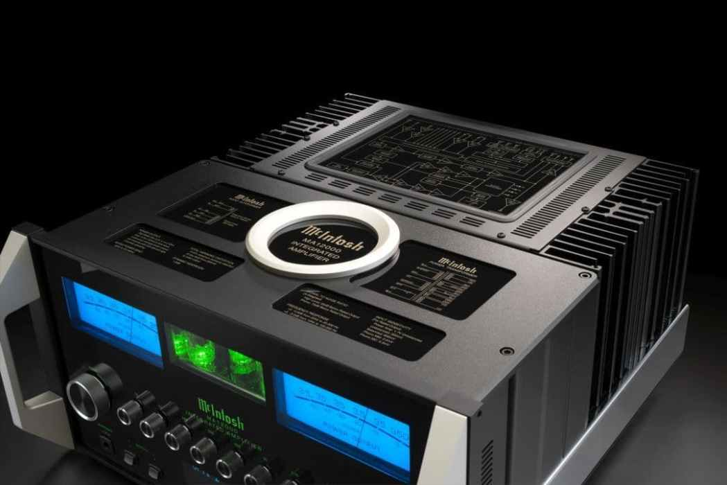 MA12000 Hybrid Amplifier From McIntosh