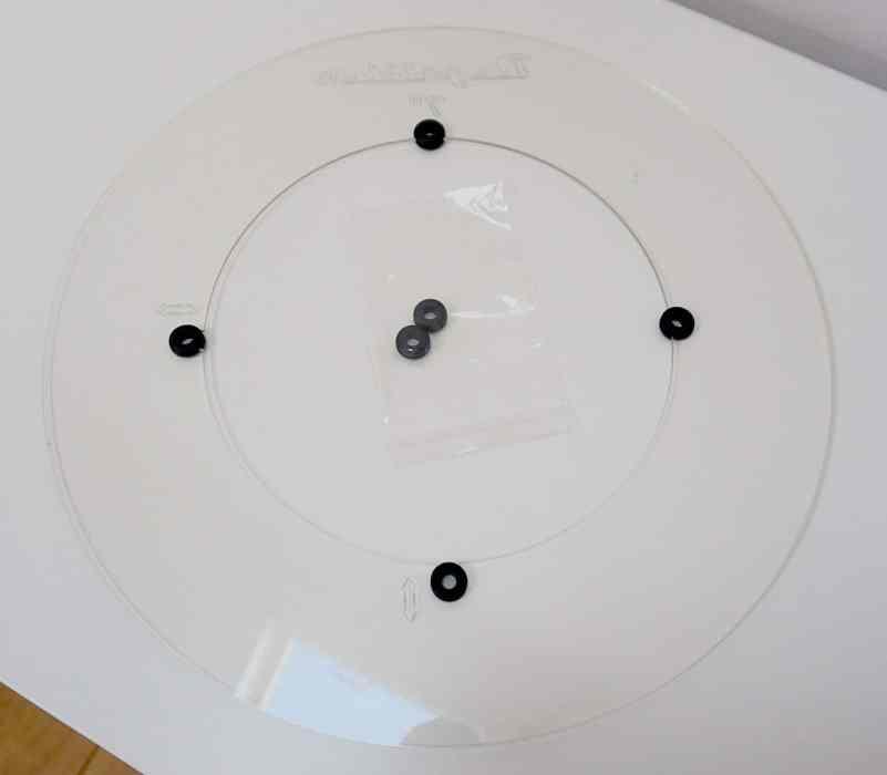 """7"""" & 10"""" Adaptor Discs: Degritter Ultrasonic Cleaner"""