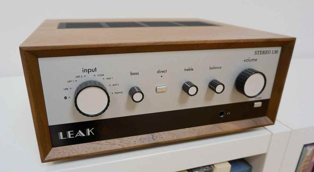 Stereo 130 Amplifier From Leak
