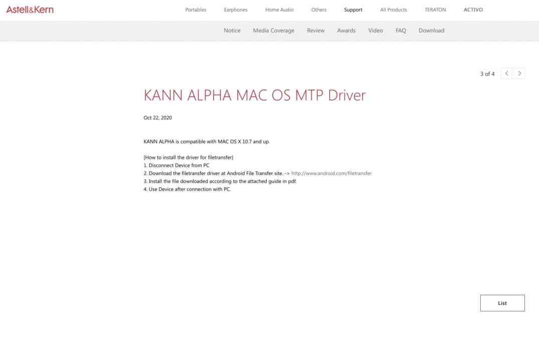 Kann AlphaDAP From Astell & Kern