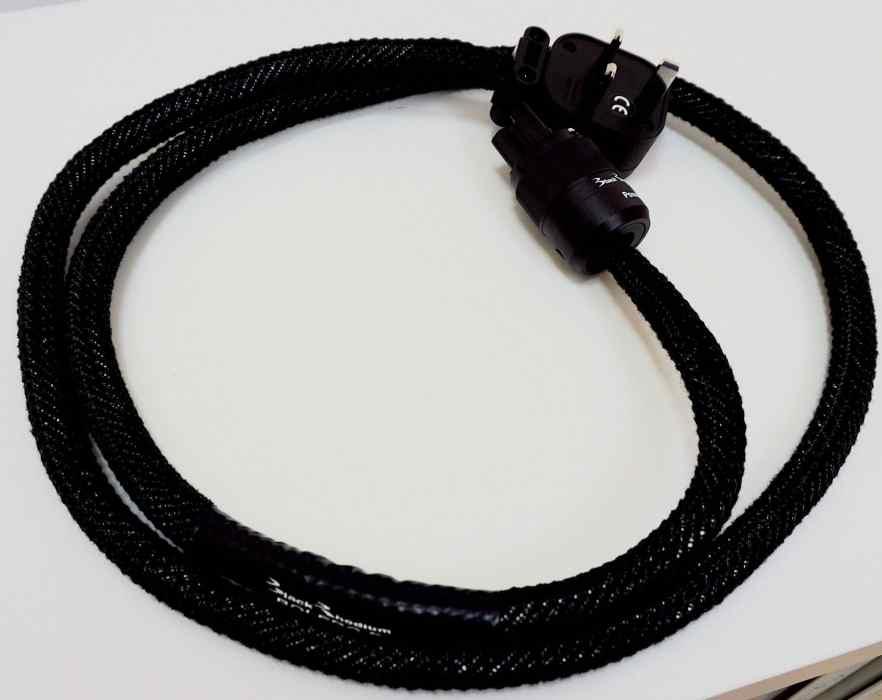 BLACK RHODIUM POWER BOLERO S MAINS CABLE