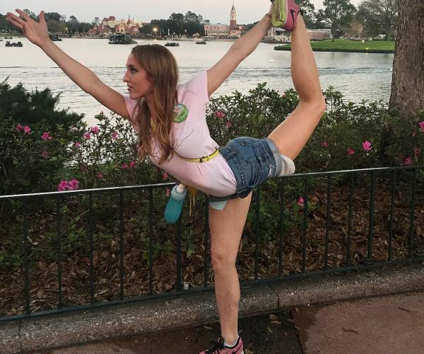 Audrey Duncan Yoga Dancer Epcot