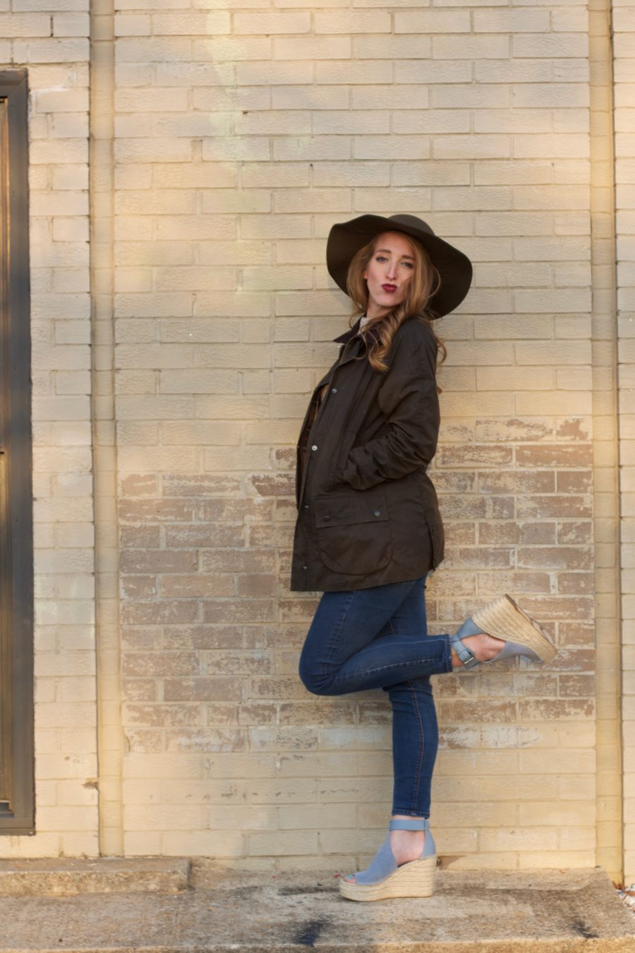 Barbour Jacket & Matching Hat 2