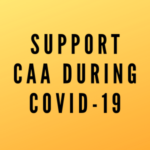 support caa during covid 19