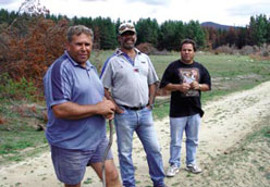 Carl Brown, Joe House and Larry Brandy in the Gudgenby area (Namadgi National Park)