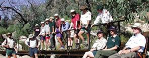 AAWT Group, Mt Tennent, Namadgi NP.