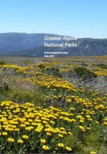 Greater Alpine National Parks Draft Management Plan