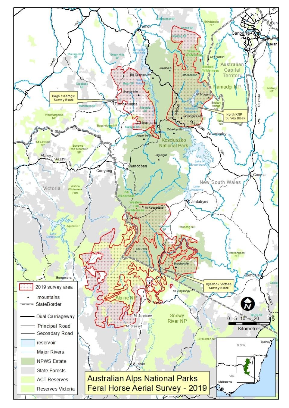 Aust Alps Feral Horse Aerail Survey 2019 A4