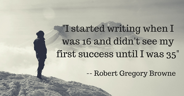 -I started writing when I was 16 and didn't