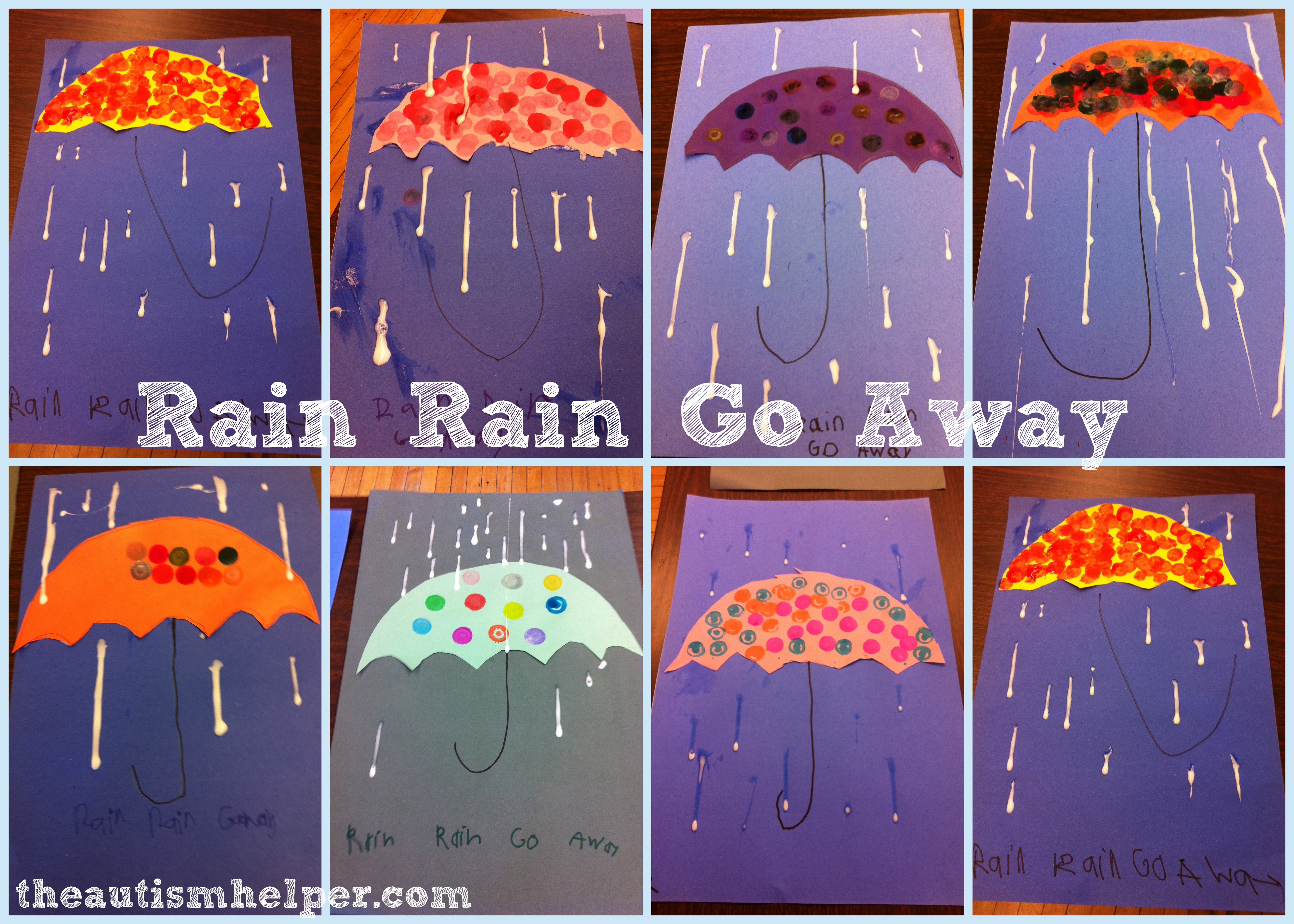 Rain Drop Craft