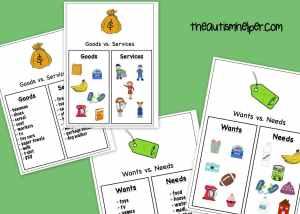 The Autism Helper - Economy Unit