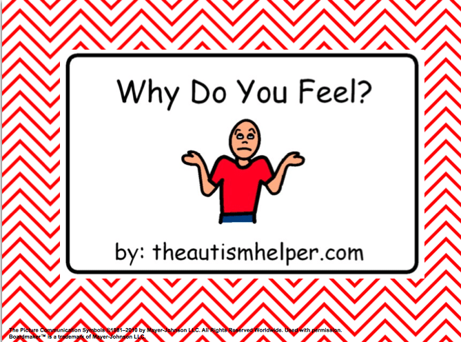 Why Do You Feel? {an adapted book}