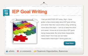 The Three Essential Parts Of Iep Goal >> Iep Goal Writing The Autism Helper