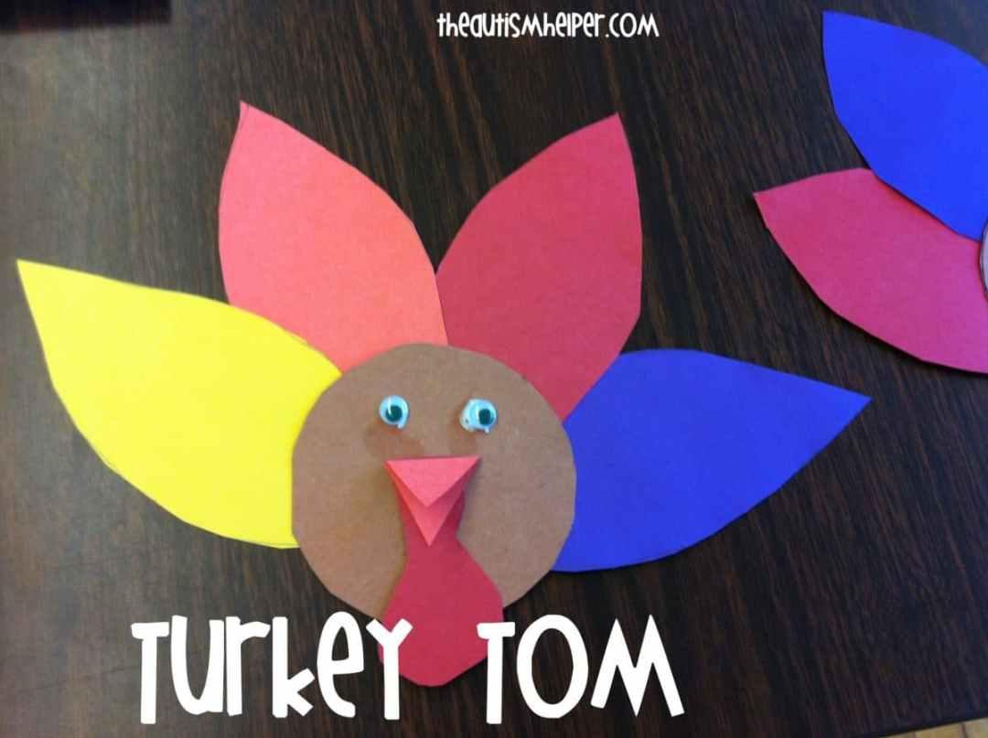 The Autism Helper - Turkey Craft