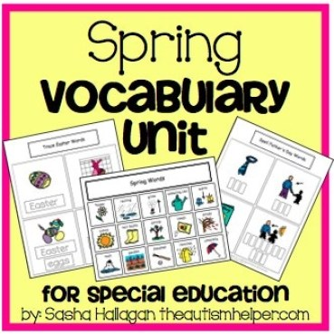 The Autism Helper - Spring Vocabulary